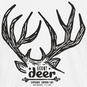 Scout deer - Men's Premium T-Shirt