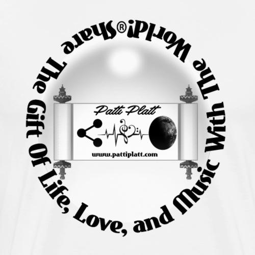 Share Life Love Music - Men's Premium T-Shirt