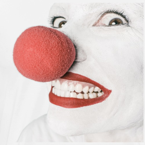 Crazy Clown Man - Men's Premium T-Shirt