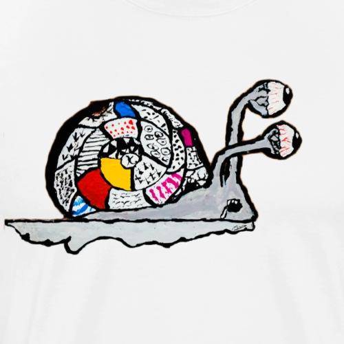 Escargot magique - T-shirt premium pour hommes