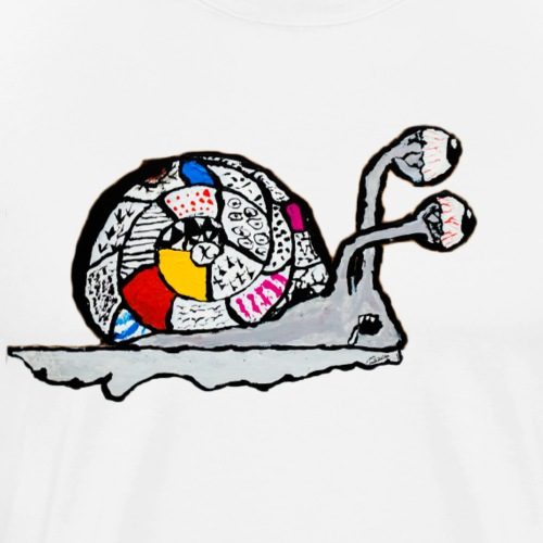 Magical Snail - Men's Premium T-Shirt