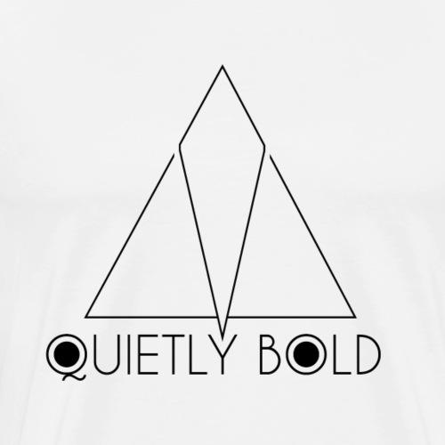 Quietly Bold - Men's Premium T-Shirt