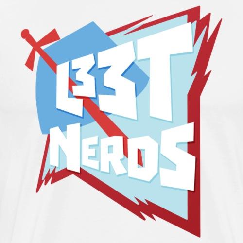 L33tNerds Logo - Men's Premium T-Shirt