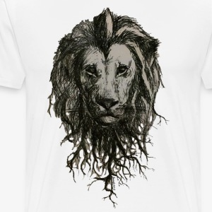 Grounded In Courage (Isaiah 11:1-5) - Men's Premium T-Shirt