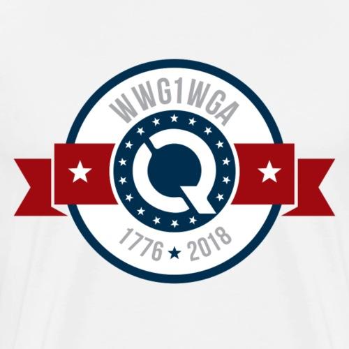 WWG1WGA [1776-2018] V2 - Men's Premium T-Shirt