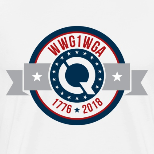 WWG1WGA [1776-2018] - Men's Premium T-Shirt