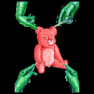 Runforthecube - Teddy Bear Inspection - Men's Premium T-Shirt