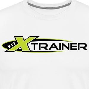 FITx Trainer 001a - Green - Men's Premium T-Shirt