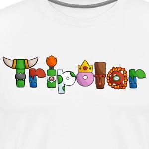 TRIPOLAR LOGO - Men's Premium T-Shirt
