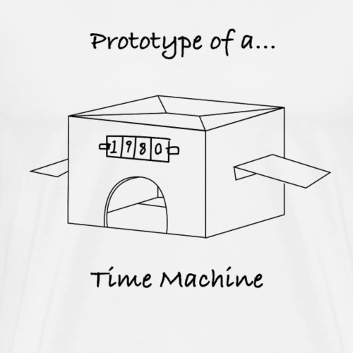 Time Machine - Men's Premium T-Shirt