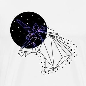 GEOMETRIC UNICORN - T-shirt premium pour hommes