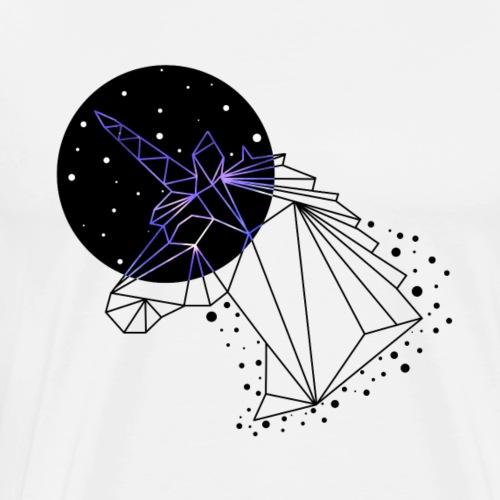 GEOMETRIC UNICORN - Men's Premium T-Shirt