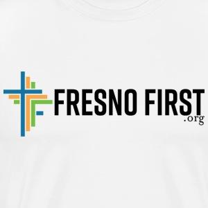 FresnoFirst logo full color - Men's Premium T-Shirt