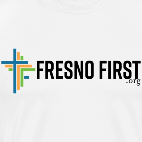 FresnoFirst logo full color - Men's Premium T-Shirt