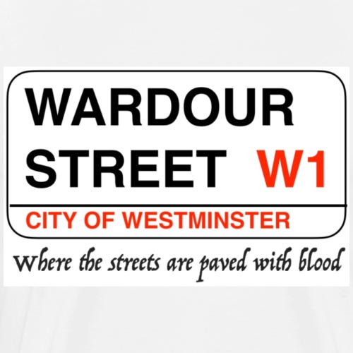 'A' Bomb In Wardour Street - Men's Premium T-Shirt
