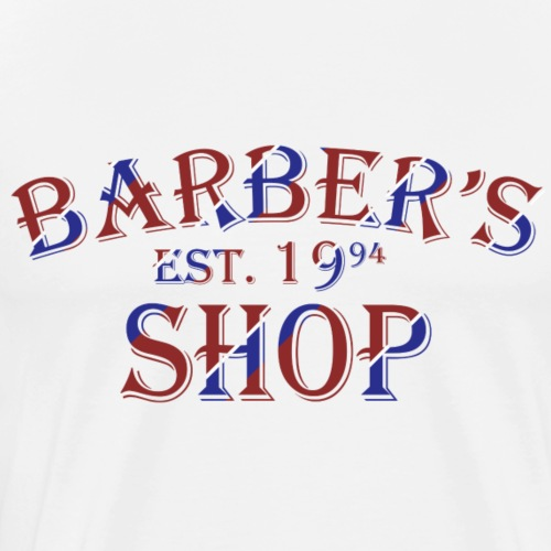 Barber Shop - Men's Premium T-Shirt