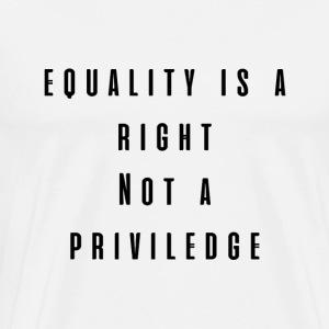 Equality Black - Men's Premium T-Shirt