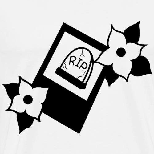 R.I.P Black - Men's Premium T-Shirt