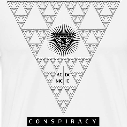 Conspiracy, who's watching? - Men's Premium T-Shirt
