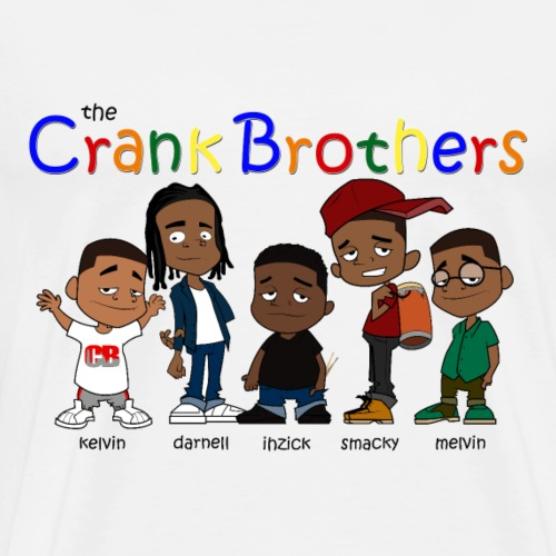 the Crank Brothers - Men's Premium T-Shirt