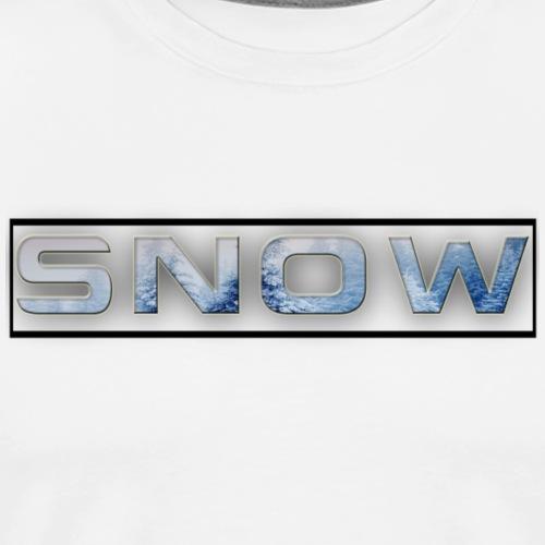 Sn0w - Men's Premium T-Shirt