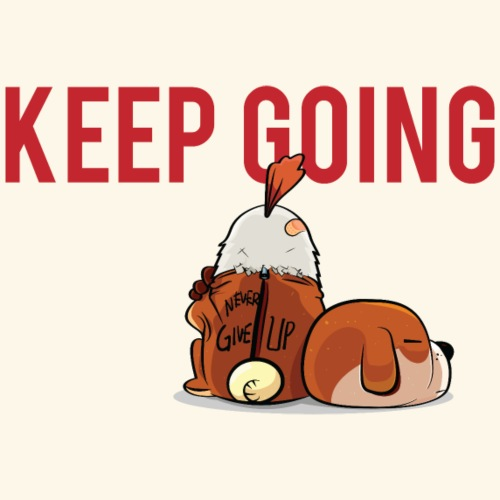 Keep Going - Men's Premium T-Shirt