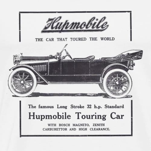 hupmobile ad black - Men's Premium T-Shirt