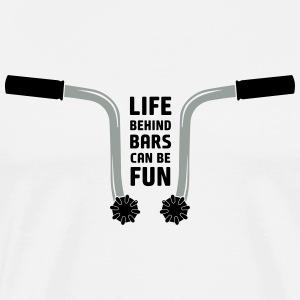 CT70 - Life behind bars can be fun - Men's Premium T-Shirt