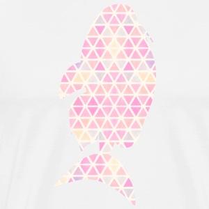 Vector Fish Triangular - Men's Premium T-Shirt