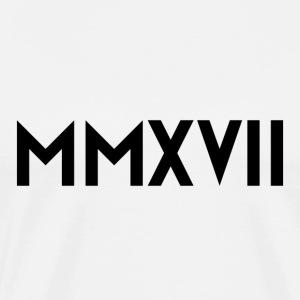 MMXVII Black - Men's Premium T-Shirt