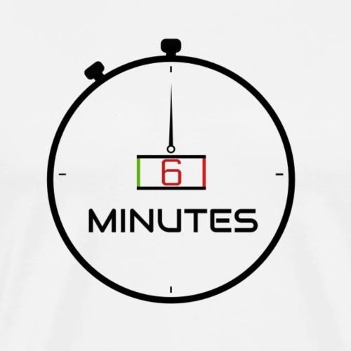 6 Minutes Black Matwatch - Men's Premium T-Shirt