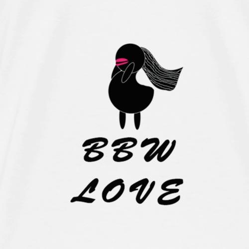 bbw love full logo - Men's Premium T-Shirt