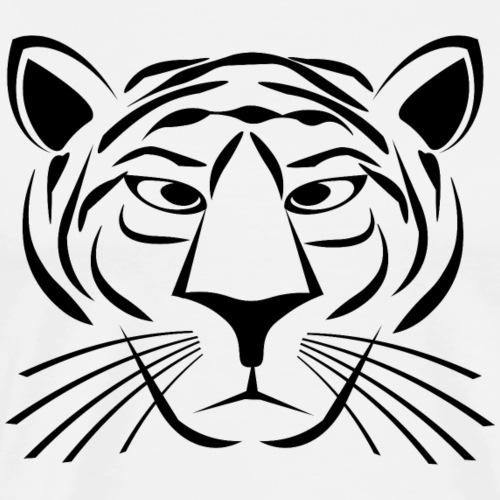 Tiger Face - Men's Premium T-Shirt