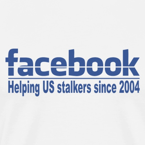 Helping US stalkers - Men's Premium T-Shirt