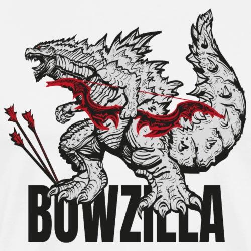 Bowzilla black (Archery by BOWTIQUE) - Men's Premium T-Shirt