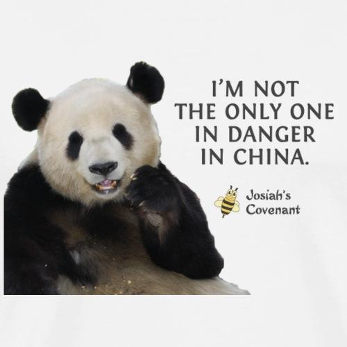 Endangered Pandas - Men's Premium T-Shirt