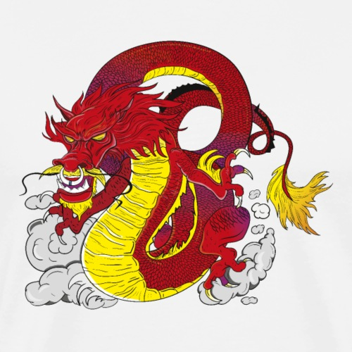 Asian Dragon - Men's Premium T-Shirt