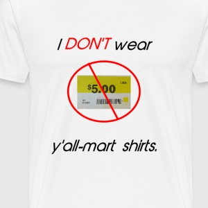 Y'ALL MART - Men's Premium T-Shirt