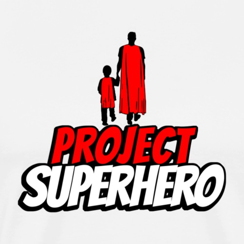 Project Superhero (logo) - Men's Premium T-Shirt