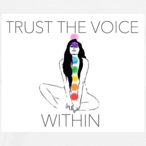 Trust the Voice - Men's Premium T-Shirt