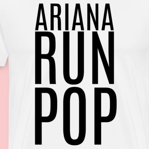 Ariana Run Pop - Men's Premium T-Shirt