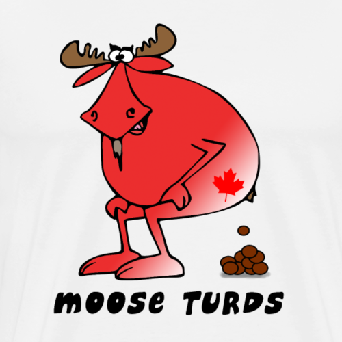 Moose Turds - Men's Premium T-Shirt