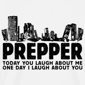 Prepper Preppers Survival - Men's Premium T-Shirt
