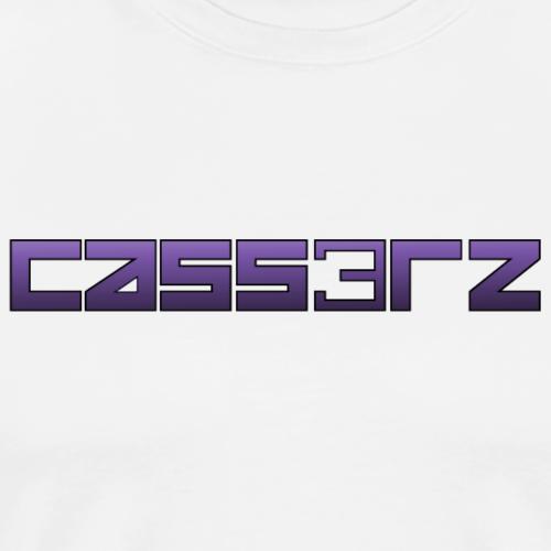 Cass3rz Gaming Logo Purple - Men's Premium T-Shirt