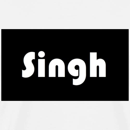 Singh winter jacket - Men's Premium T-Shirt