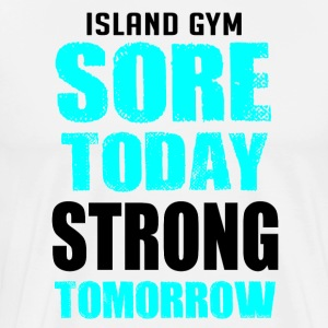Sore Today white IG - Men's Premium T-Shirt