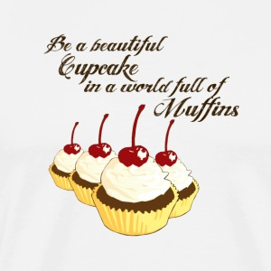 Inspirational Cupcakes - Men's Premium T-Shirt