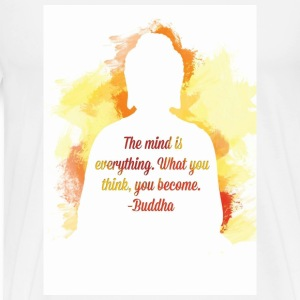 Buddha quotes - Men's Premium T-Shirt