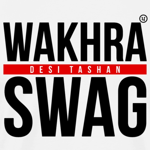 Wakhra Swag B - Men's Premium T-Shirt