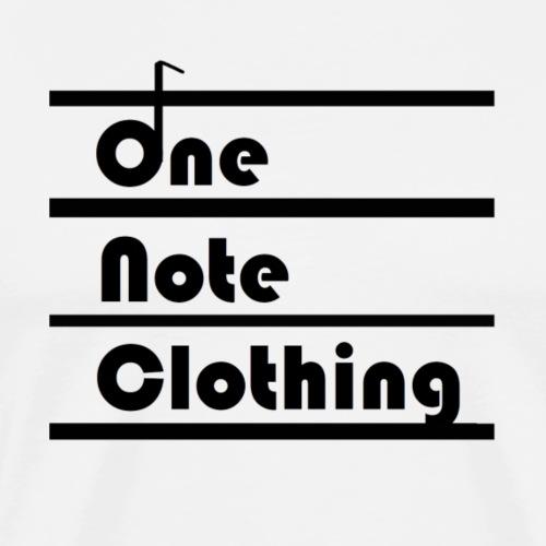 One Note Sqaure - Men's Premium T-Shirt